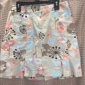 Cute Skirt By Ann Taylor Loft Size 2 Petite